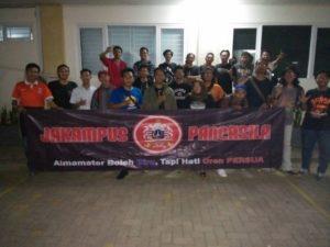 Anggota – anggota jak kampus Universitas Pancasila